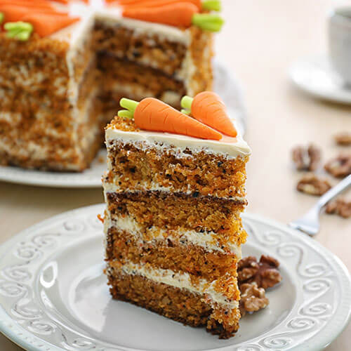 Luxury Carrot Cake