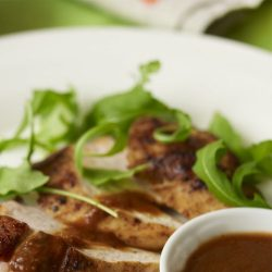 Caramelised Chicken with Hot Ginger Sauce