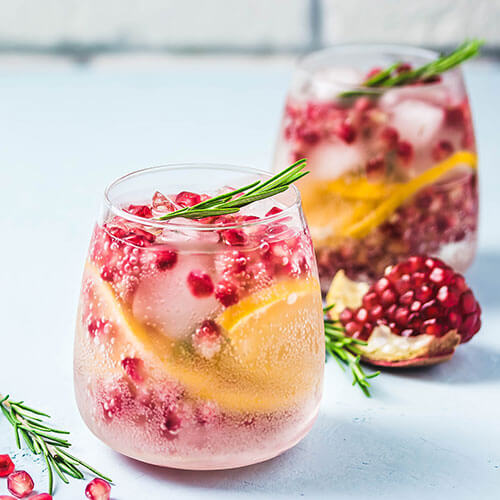 Pomegranate Punch Cocktail
