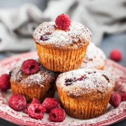 Raspberry and Vanilla Cupcakes