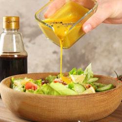 Home-made Trio of Salad Dressing
