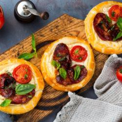 Mini Tomato Tart Tartin