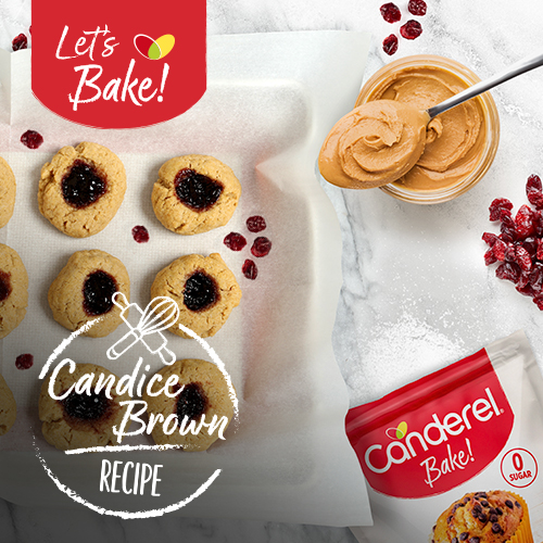 Candice Brown's Peanut Butter & Jelly Cookies